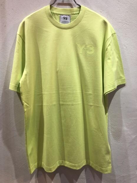 「Y-3 ワイスリー」新作ロゴCAPとロゴTシャツ入荷です。_c0204280_11481399.jpg