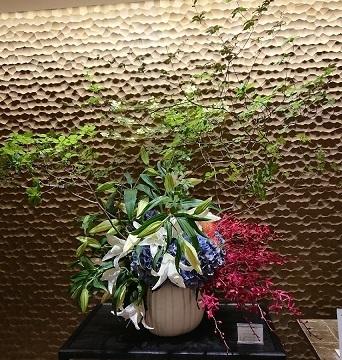 サロンのお花と 美容院_a0264383_15531759.jpg