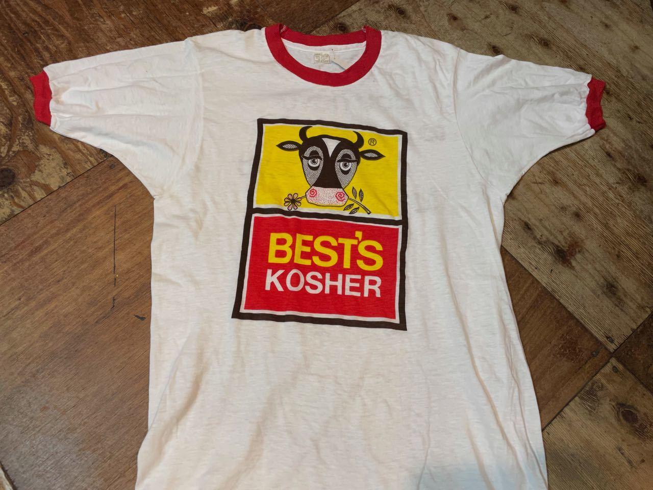7月19日(月)入荷! デッドストック 70s all cotton  企業物 両面 染み込みプリント ビンテージ リンガーTシャツ!_c0144020_13382687.jpg