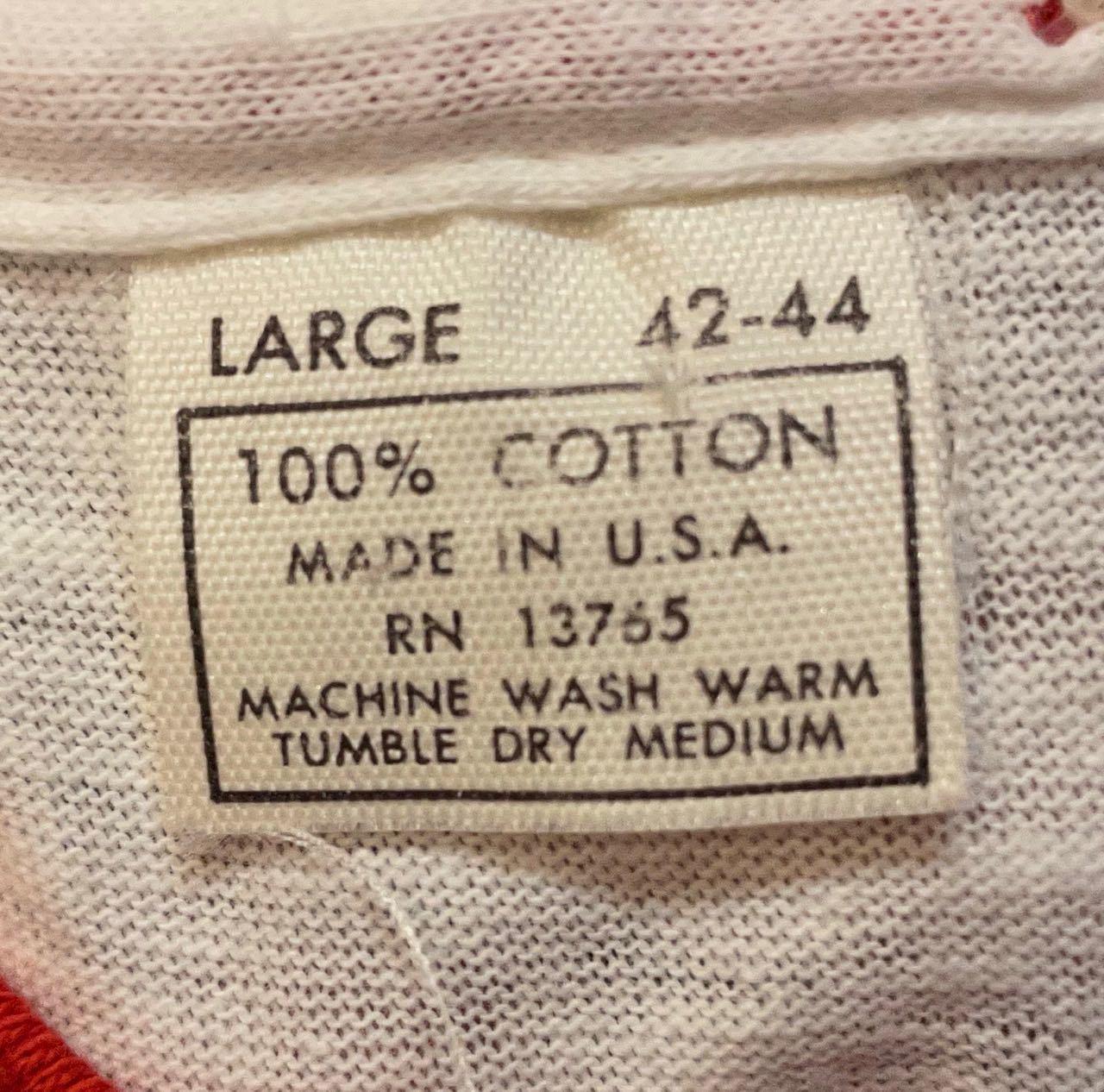 7月19日(月)入荷! デッドストック 70s all cotton  企業物 両面 染み込みプリント ビンテージ リンガーTシャツ!_c0144020_13383183.jpg