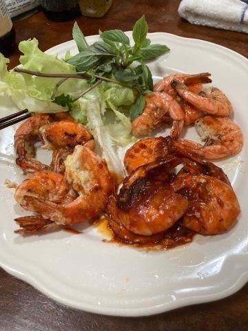 タイでの「海老の三種炒め」簡単でうまい。スープも作っちゃおう!_d0159325_21335428.jpg