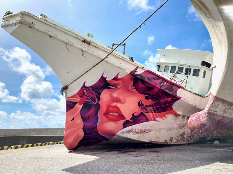 "\""Otakiage\"" mural_b0126644_22213256.jpg"