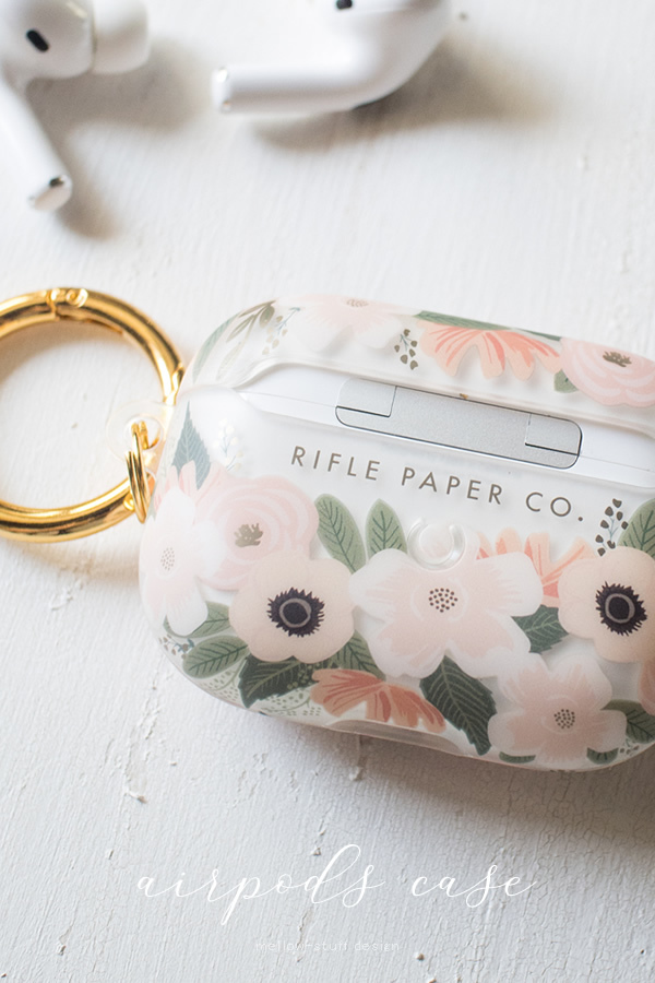 【rifle paper co】airpods pro ケース _d0124248_16442518.jpg