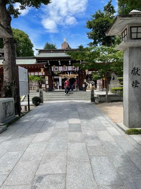 櫛田神社に参拝してきました!!_f0222994_02151860.jpg