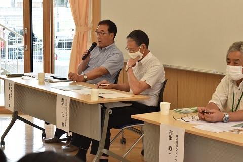 川内小中学園生と意見交換_d0003224_17454464.jpg