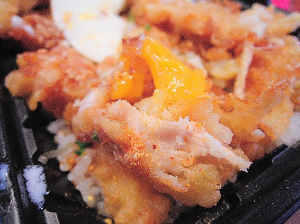 オーケーストアのお弁当(鶏天丼)@自宅_d0402143_17283550.jpg