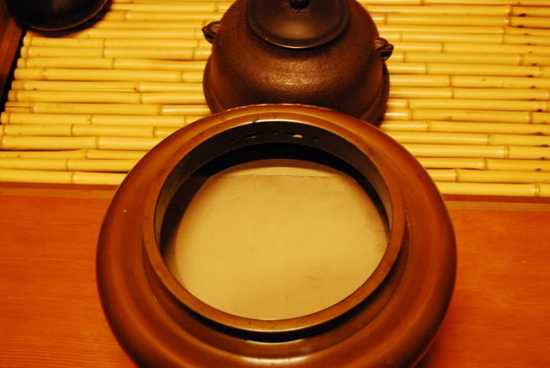 朝鮮風炉 灰形 一文字_d0377709_16563984.jpg