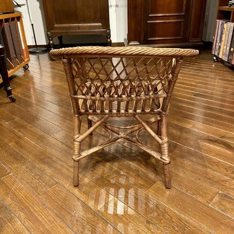 Lot.42小型折りたたみ椅子&Lot.43子供用籐製椅子_a0047010_19363701.jpg