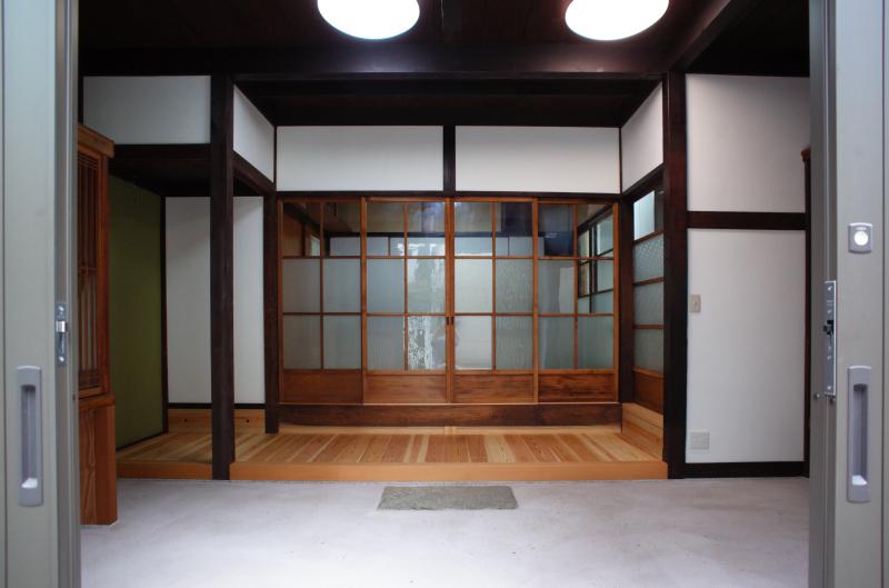 町家改修53 ミセノマ3_e0360218_09085891.jpg
