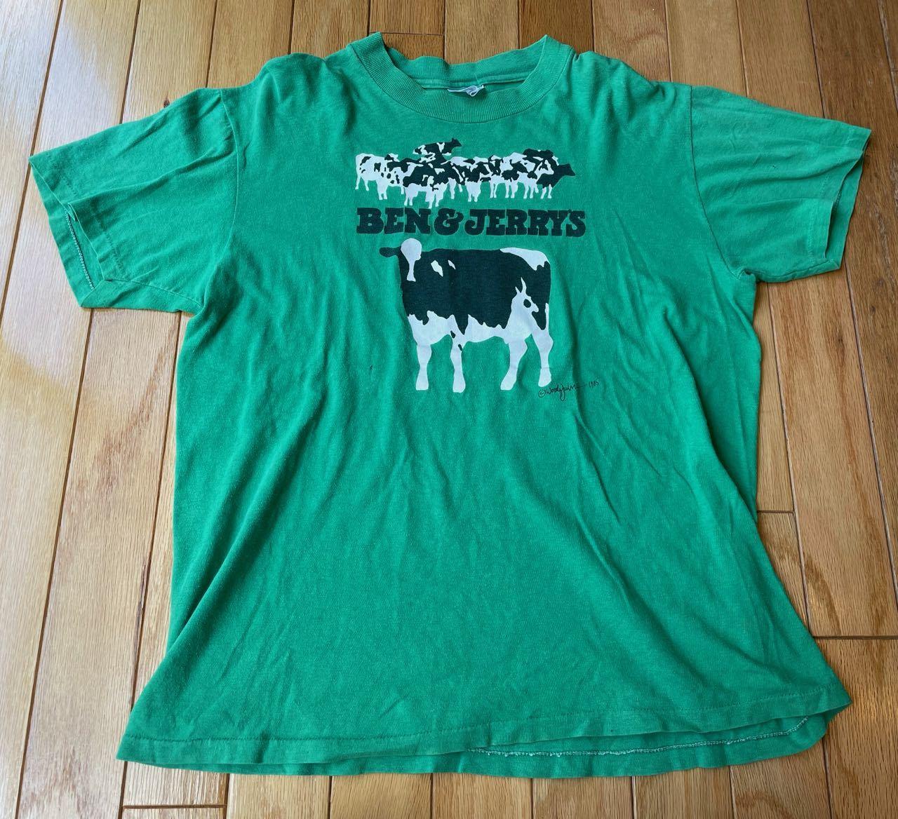 7月22日(木)入荷! 80s  BEN&JERRY\'S ICE CREAM Tシャツ!_c0144020_20334056.jpg