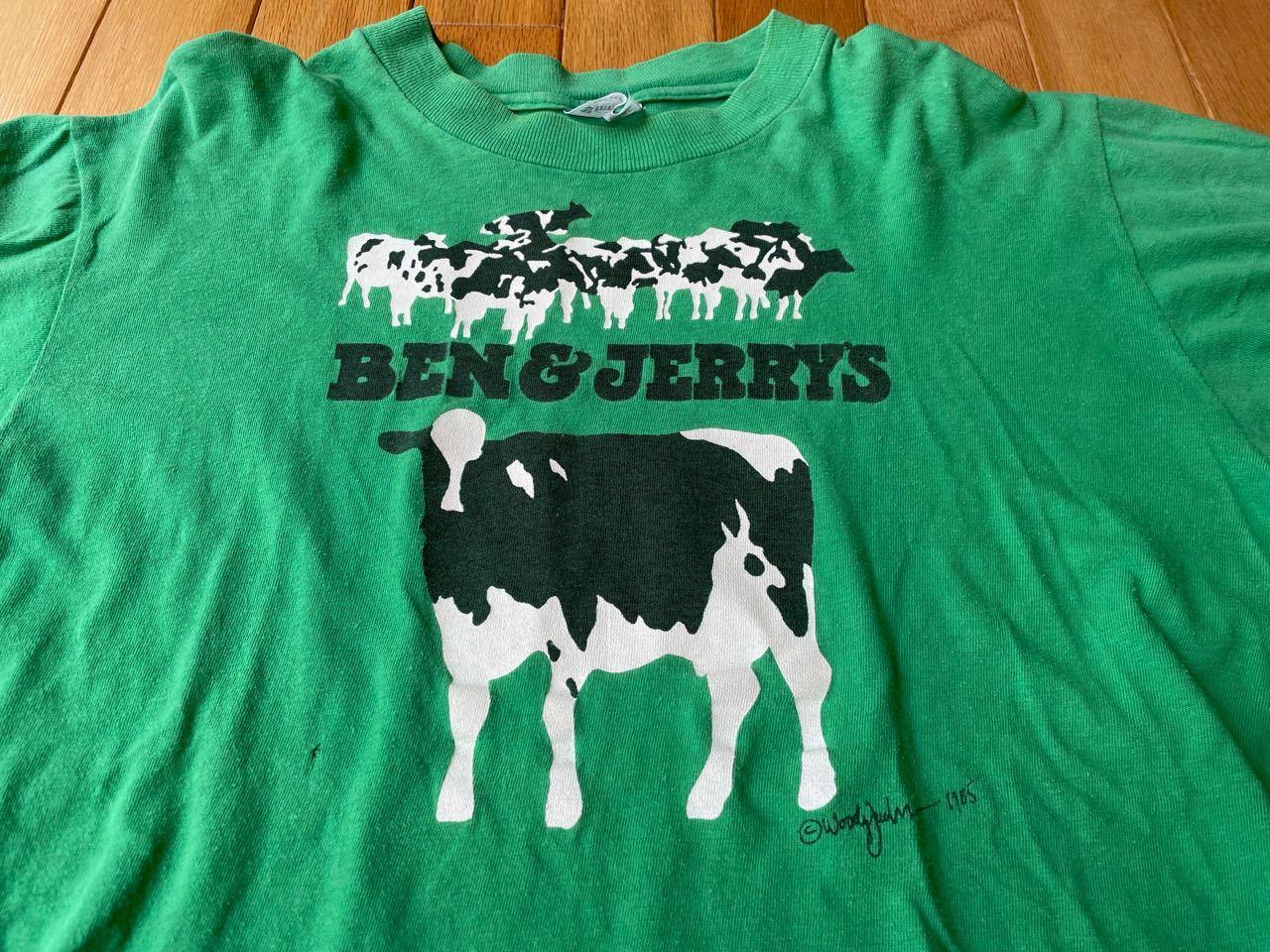 7月22日(木)入荷! 80s  BEN&JERRY\'S ICE CREAM Tシャツ!_c0144020_20334276.jpg