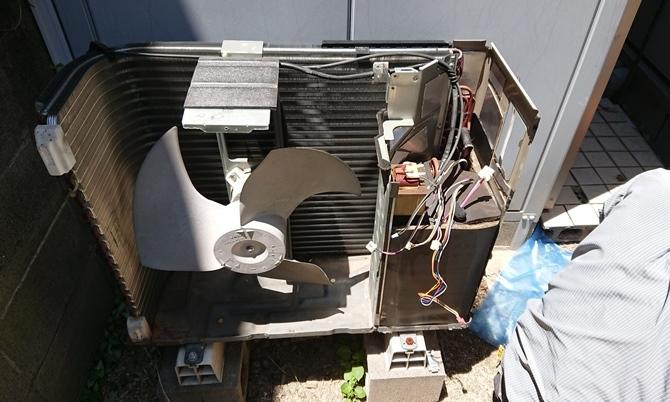 エコヌクールの修理_b0088521_22142654.jpg