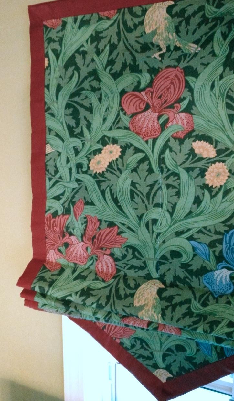 『モリス』のカーテンとシェードの『クリーニング』を承りました by interior styling of bright_c0157866_22472414.jpg
