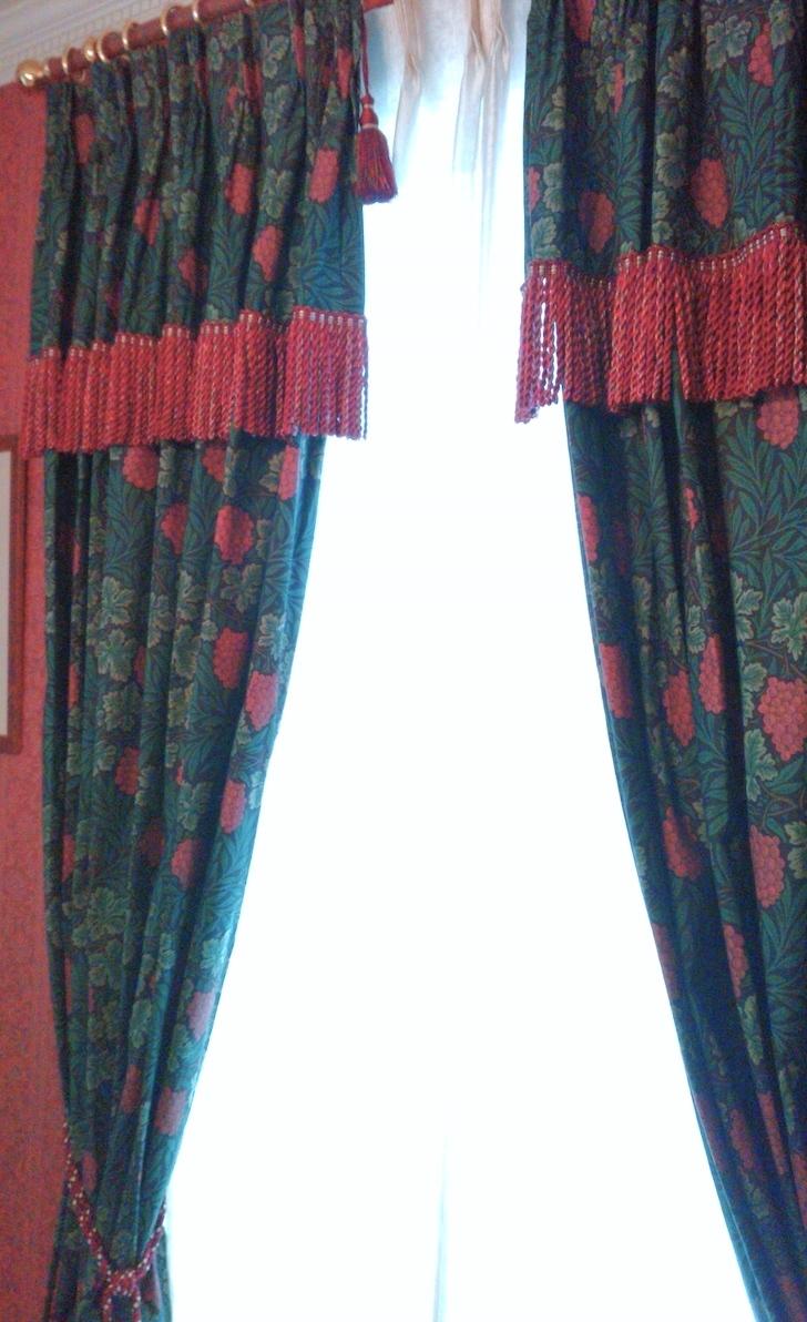 『モリス』のカーテンとシェードの『クリーニング』を承りました by interior styling of bright_c0157866_22473572.jpg