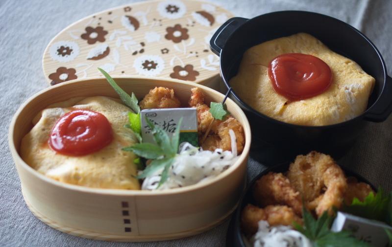 今日のお弁当(オムライス)_d0327373_09232153.jpg
