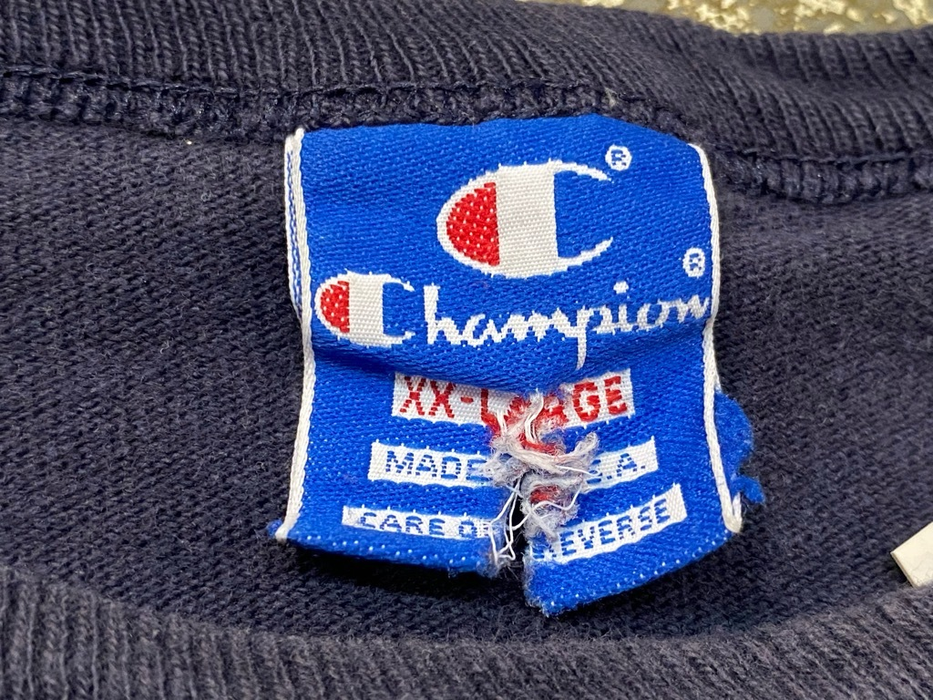 7月24日(土)マグネッツ大阪店スーペリア入荷日!! #2 Champion&TankTop編! PrintTee,SolidTee,PoloShirt,N/S Sweat,SweatShorts!!_c0078587_14073868.jpg