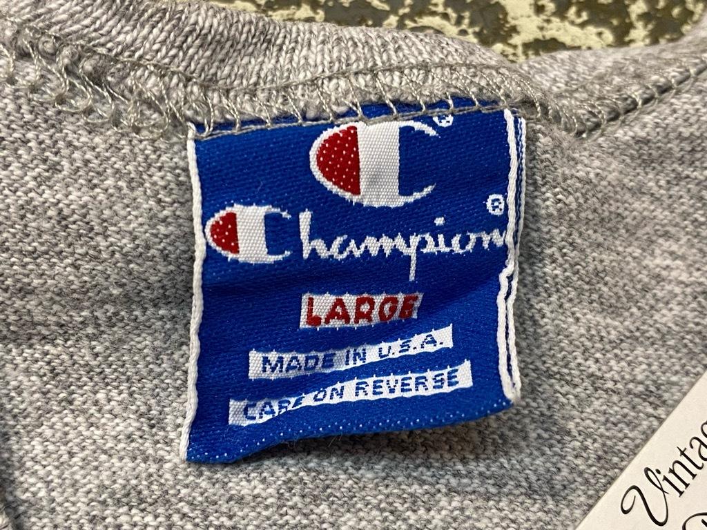 7月24日(土)マグネッツ大阪店スーペリア入荷日!! #2 Champion&TankTop編! PrintTee,SolidTee,PoloShirt,N/S Sweat,SweatShorts!!_c0078587_14111628.jpg