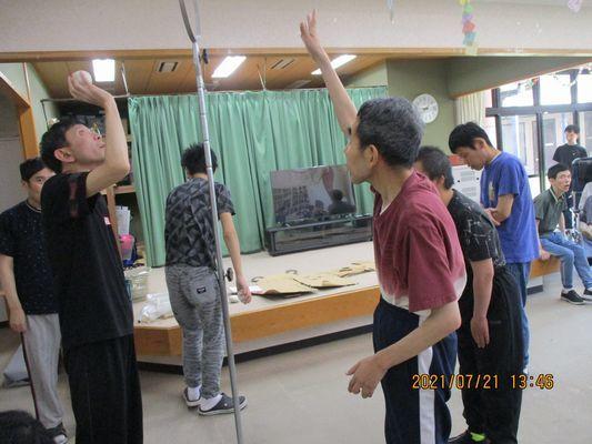 7/21 日中活動_a0154110_09251975.jpg