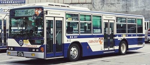 大分バス 三菱ふそうKC-MP747K +MBM_e0030537_17263483.jpg