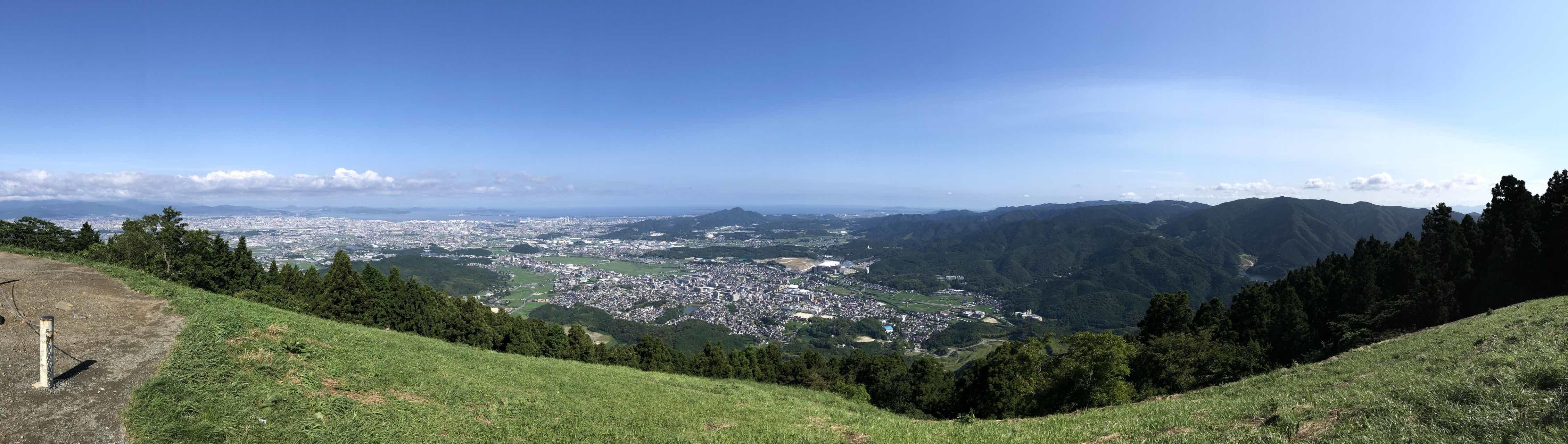 米の山展望台より_b0023047_03392128.jpg