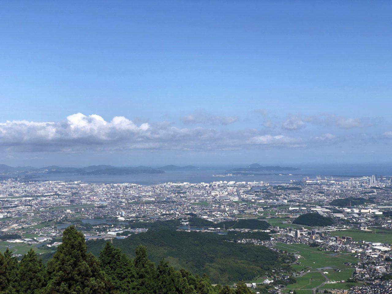 米の山展望台より_b0023047_03392930.jpg