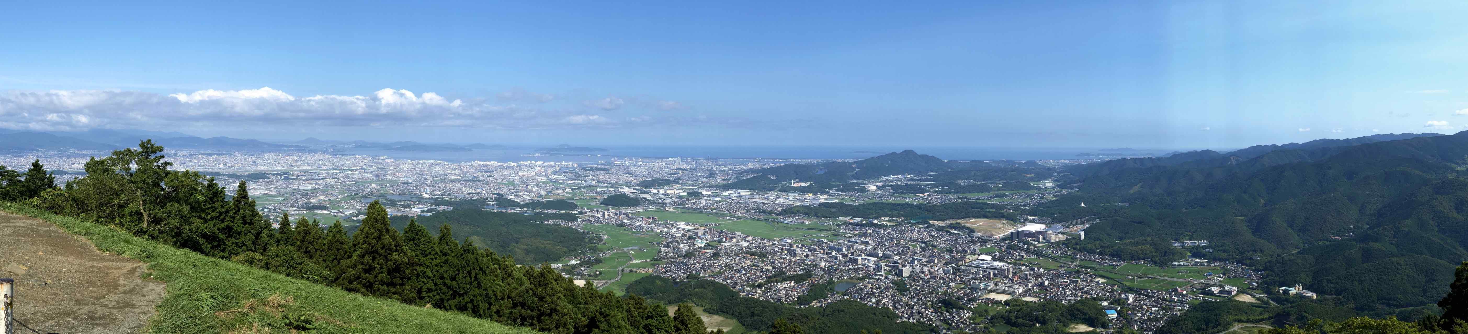 米の山展望台より_b0023047_03393341.jpg