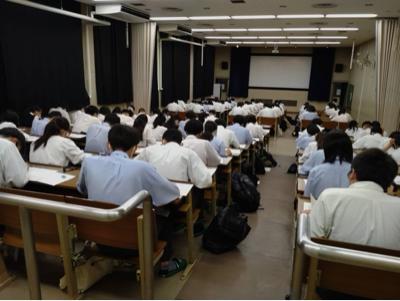 全統模試 - 久米田高校校長のブログ