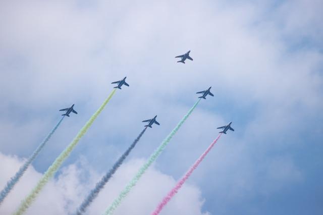 東京2020オリンピック ブルーインパルス_a0188771_16580246.jpg
