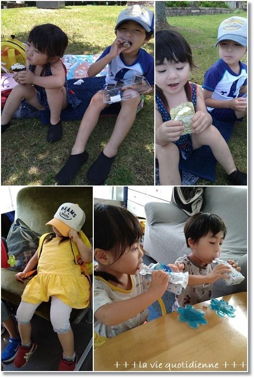 スコーン2種とワンオペ★2歳児と4歳児の夏休みはバスに乗って~川遊び~_a0348473_06242435.jpg