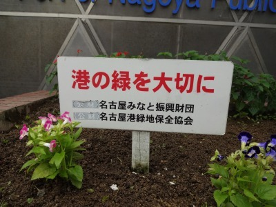 ガーデンふ頭総合案内所前花壇の植替えR3.7.12_d0338682_14350725.jpg