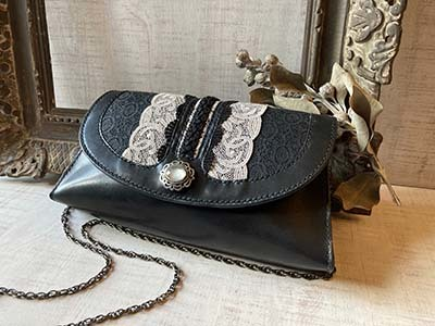 Leather & Lace チェーンバッグ_f0155891_14493518.jpg
