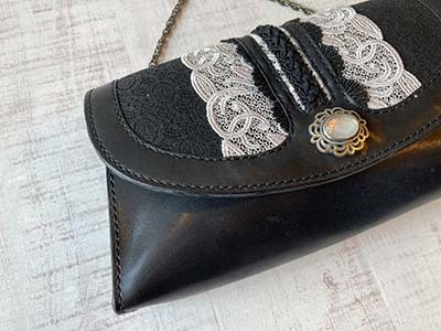 Leather & Lace チェーンバッグ_f0155891_14493683.jpg