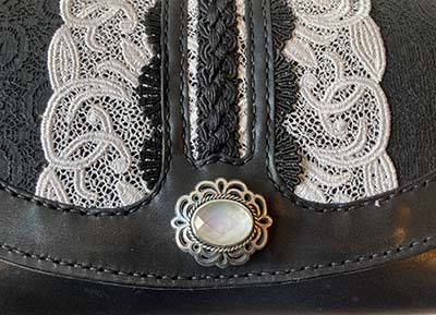 Leather & Lace チェーンバッグ_f0155891_14493785.jpg