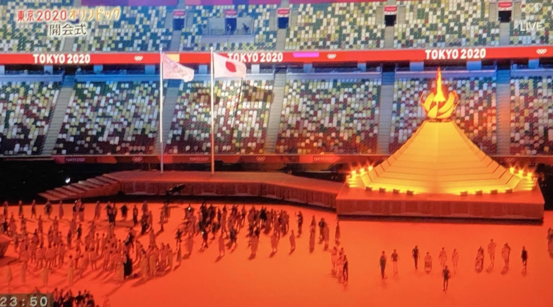 東京オリンピックが始まった!_c0192202_19134751.jpg