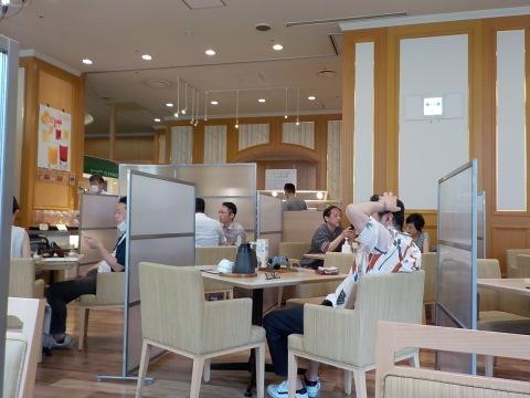 センチュリーロイヤルホテルのユーヨーテラスで朝食。_d0019916_14301019.jpg