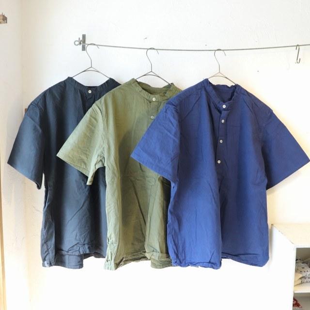 【再入荷】ブルガリアタイプ 50\'sグランパシャツ 半袖 再入荷しました_f0325437_15020915.jpg