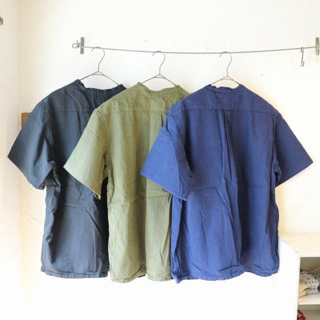 【再入荷】ブルガリアタイプ 50\'sグランパシャツ 半袖 再入荷しました_f0325437_15022348.jpg