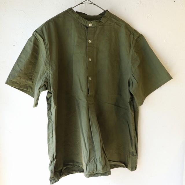 【再入荷】ブルガリアタイプ 50\'sグランパシャツ 半袖 再入荷しました_f0325437_15035538.jpg