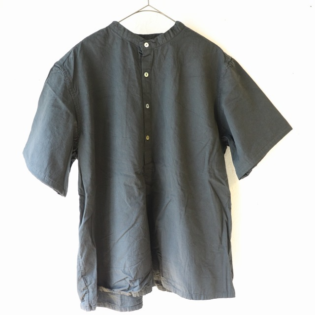 【再入荷】ブルガリアタイプ 50\'sグランパシャツ 半袖 再入荷しました_f0325437_15042133.jpg