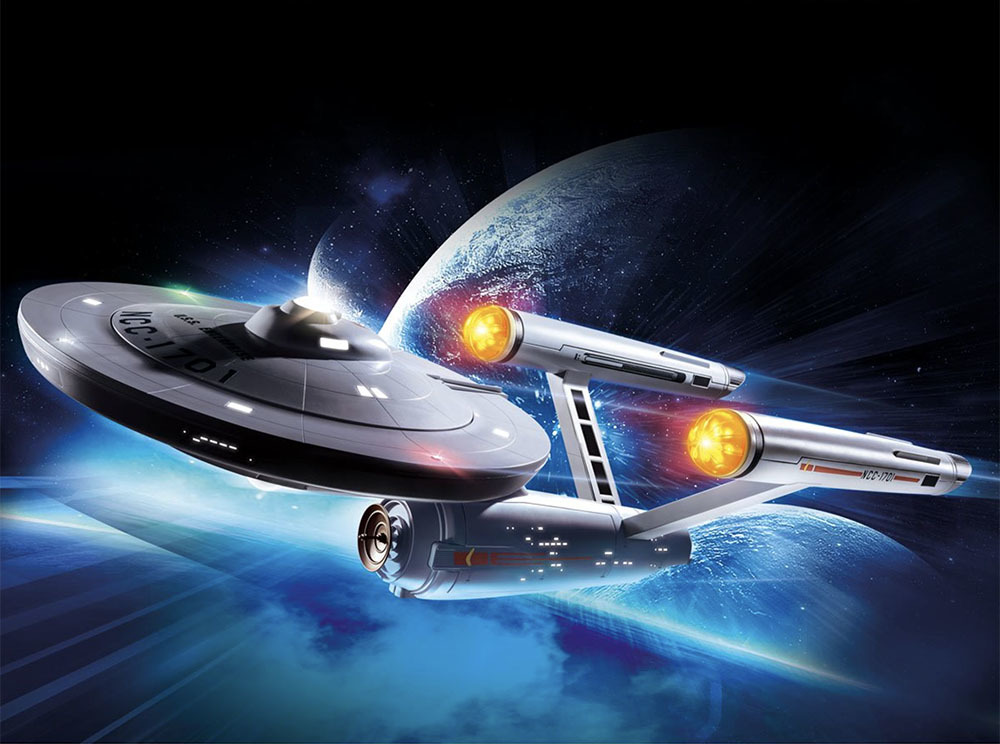 """プレイモービル \""""スター・トレック・U.S.S. エンタープライズ NCC-1701\"""" プレイセットの予約を受け付けます_a0077842_18080789.jpg"""