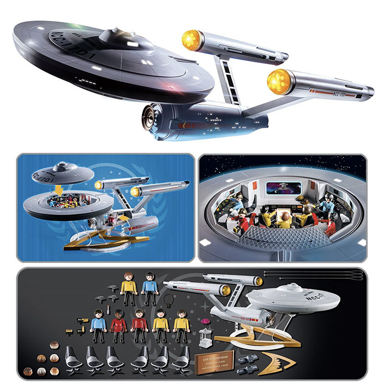 Playmobil Star Trek U.S.S. Enterprise NCC-1701 Playset_e0118156_19571190.jpg