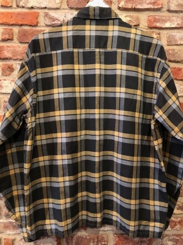 "1950s \"" Wrinki - SHED \"" - DAN RIVER Fabric - 100% Pima cotton VINTAGE BOX-TAIL CHECK SHIRTS ※ レアカラー_d0172088_17583906.jpg"