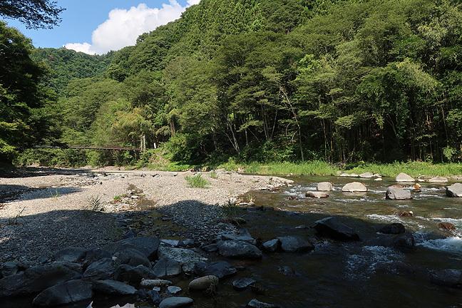 真夏の渓流リハビリへ_e0112722_18592773.jpg