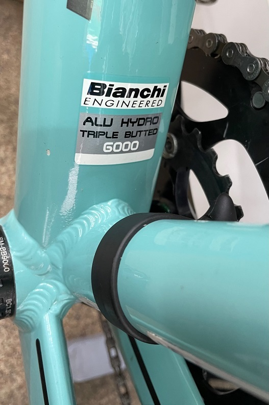 アルミ Bianchi ロードバイク メンテナンス_b0225442_13295399.jpg