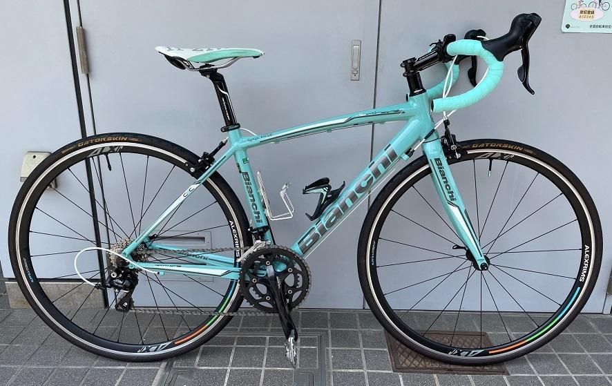 アルミ Bianchi ロードバイク メンテナンス_b0225442_13300318.jpg