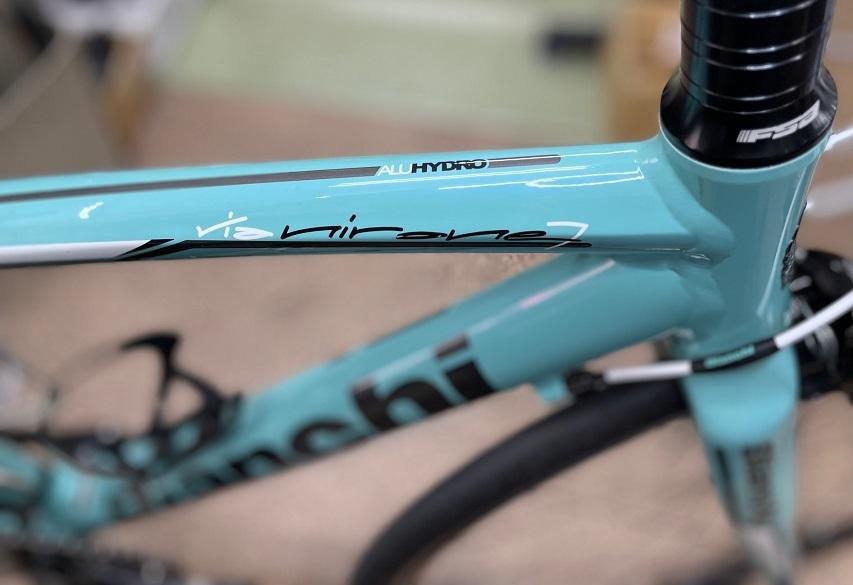 アルミ Bianchi ロードバイク メンテナンス_b0225442_13385128.jpg