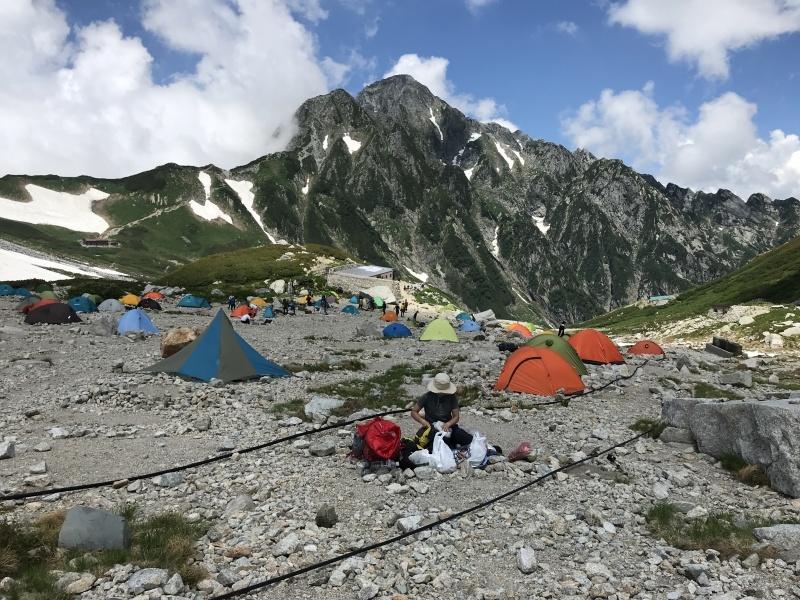 2021年7月22-24日、別山尾根から剱岳_b0037220_11471201.jpg