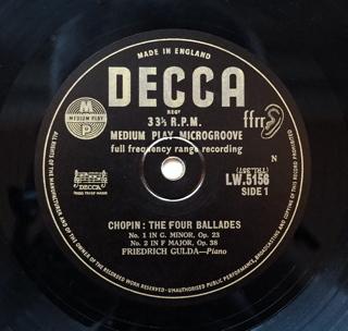 読者は勝手なことを言うもんです(Chopin ; The Four Ballades / Friedrich Gulda)_d0027243_13272097.jpg