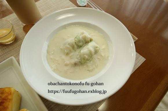 夏野菜のトマトソース煮&朝ごぱん&月曜鮭弁当は、渦巻き寿司_c0326245_11371286.jpg
