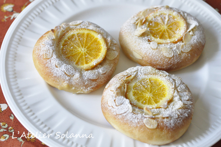 オレンジクリームパン♪_c0357760_16151408.jpg